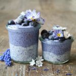 Blue Chia Pudding – A breakfast from outer space