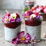 Coconut Chia Parfait, all fluffy and yummy